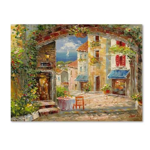 Rio 'Capri Isle' Canvas Art