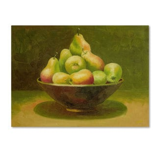 Rio 'Still Life with Pears' Canvas Art