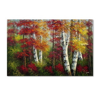 Rio 'Indian Summer' Canvas Art