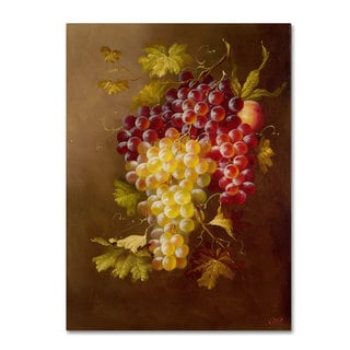 Rio 'Still Life with Grapes' Canvas Art
