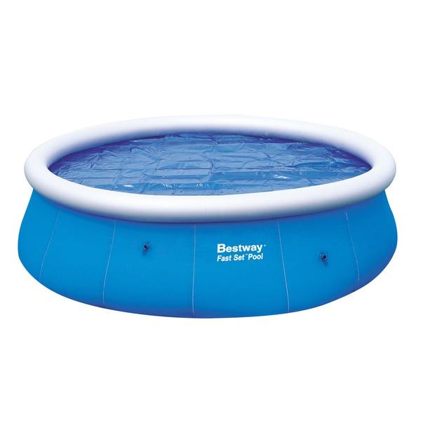 Bestway Fast Set Solar 15-Foot Pool Cover