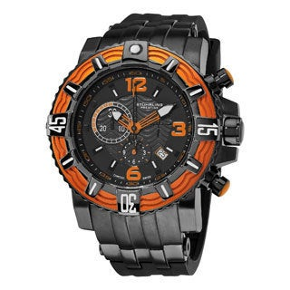 Sturling Original Men's Marine Pro Swiss Quartz Stainlees Steel Bracelet Watch