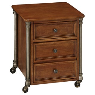 The Orleans Mobile 2-Drawer File Cabinet by Home Styles