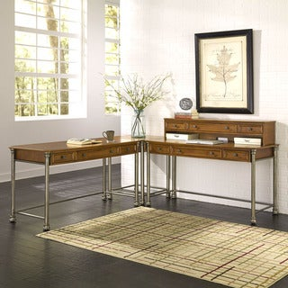 The Orleans Corner 'L' Desk by Home Styles