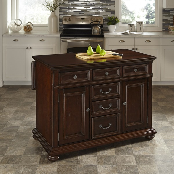 overstock kitchen island colonial classic kitchen island by home styles free 14493