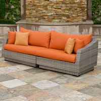 Rst Brands Cannes 4 Piece Patio Corner Sectional Free