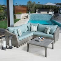 RST Brands Cannes 4-piece Patio Corner Sectional