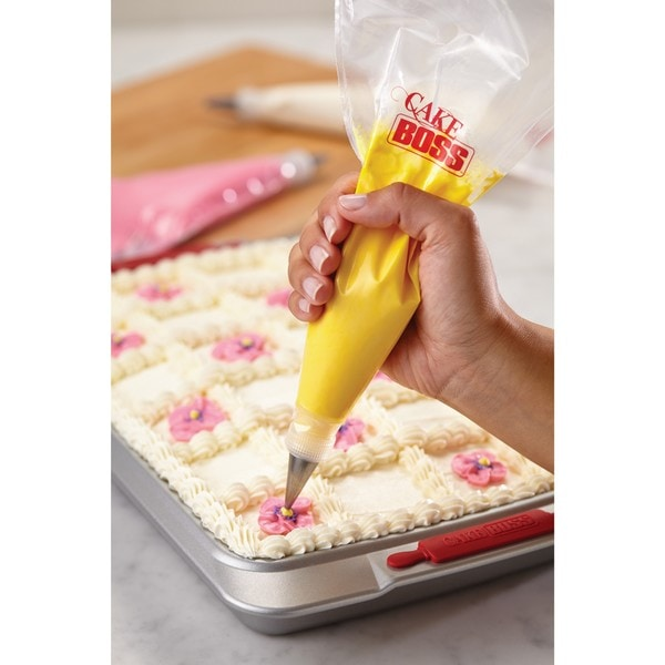 Best Cake Decorating Bags : Cake Boss Decorating Tools 12-inch 50 Count Disposable ...