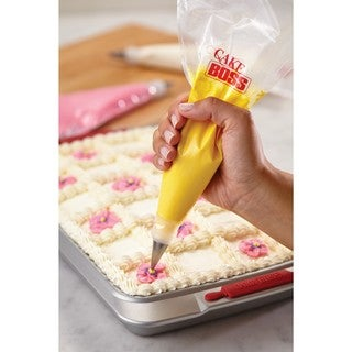 Cake Boss Decorating Tools 12-inch 50 Count Disposable Plastic Icing Bags