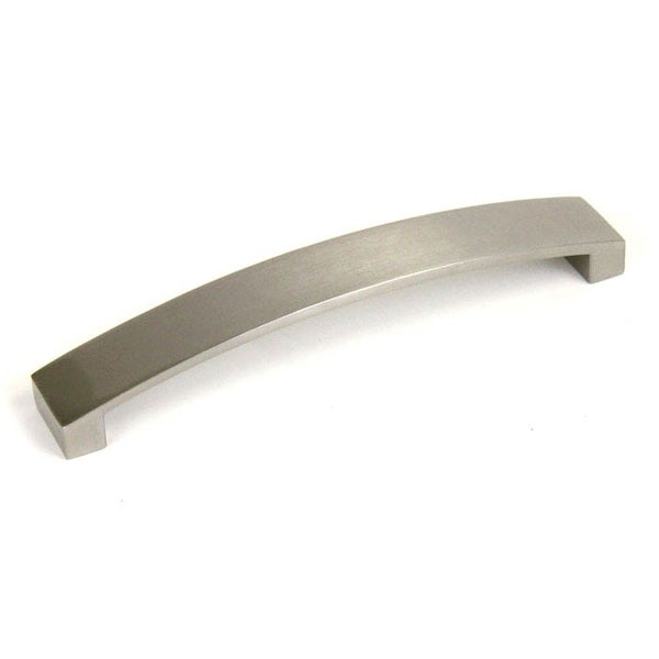 Contemporary Arch 6/75 Inch Brushed Nickel Cabinet Pull Handle (Pack Of 15