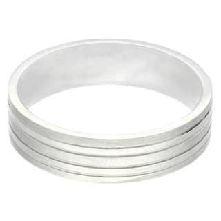 Gravity Stainless Steel Men's Matte Striped Ring https://ak1.ostkcdn.com/images/products/8876417/Gravity-Stainless-Steel-Mens-Matte-Striped-Ring-P16100732.jpg?impolicy=medium
