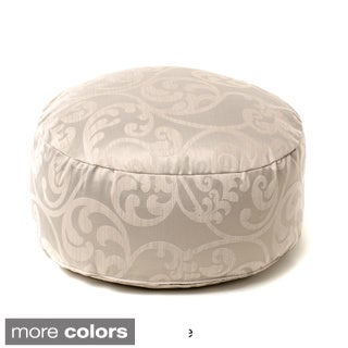 Kyla Beaded Pouf