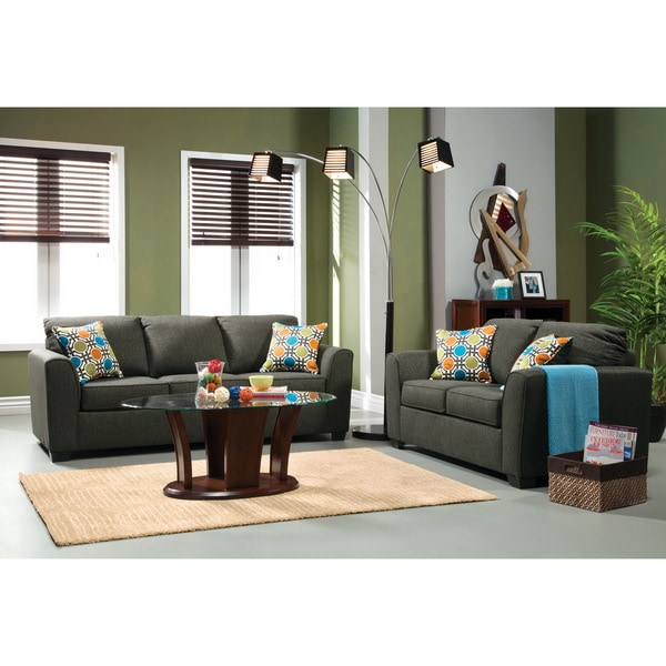 Furniture Of America Living Room Collections: Shop Furniture Of America Playan 2-piece Fabric Sofa And
