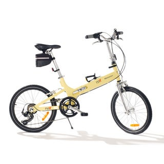 FBX Yellow 20-inch Monterey Folding Bike