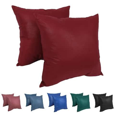 Blazing Needles Chintz 27-inch Floor Pillow (Set of 2)