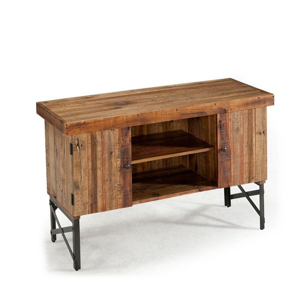 Emerald Chandler Reclaimed-look Wood Sofa Table - Emerald Chandler Reclaimed-look Wood Sofa Table - Free Shipping