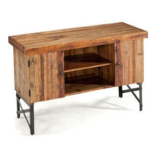 Emerald Chandler Reclaimed-look Wood Sofa Table