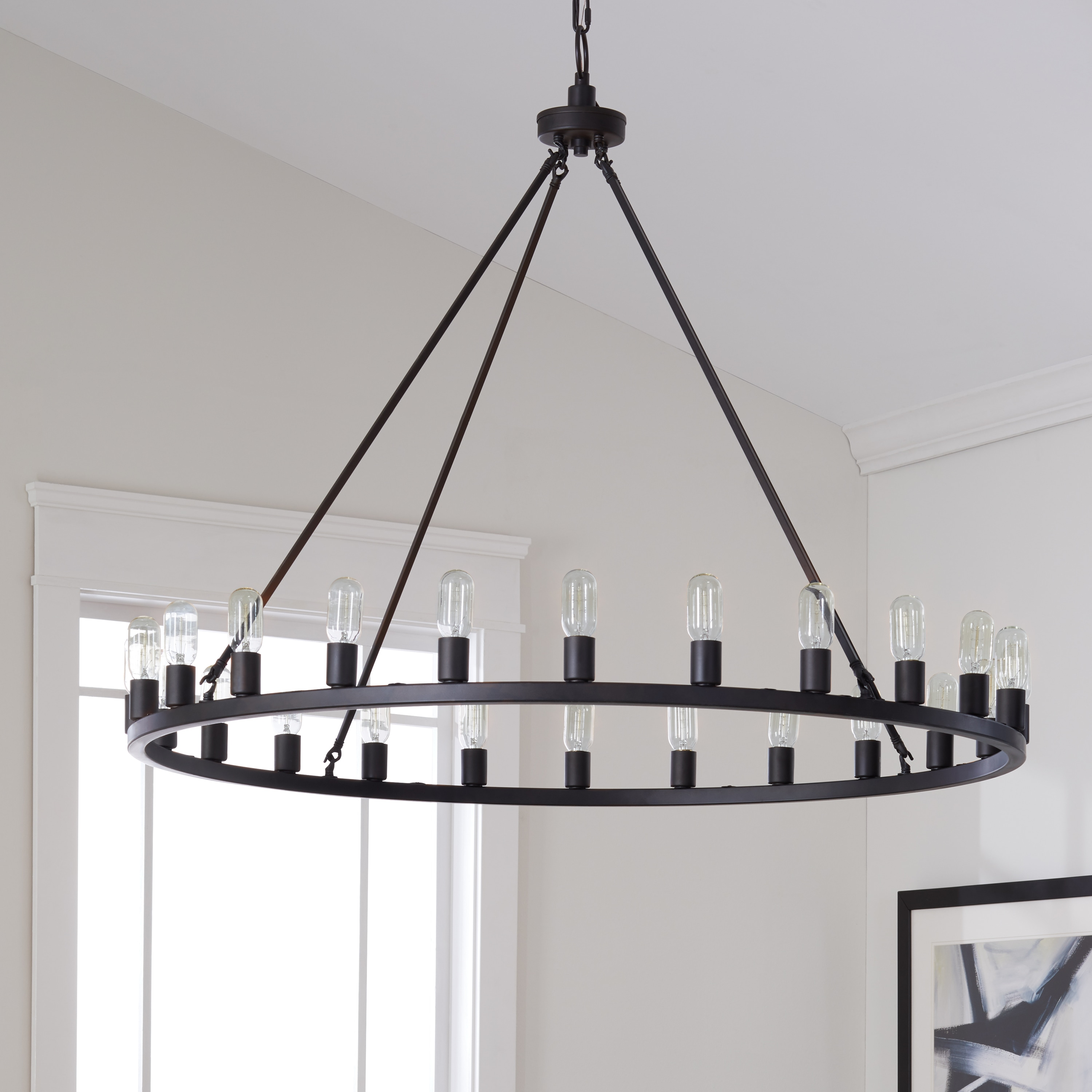 Farmhouse lighting ceiling fans