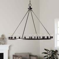 Liam Oil Rubbed Bronze 24-light Chandelier