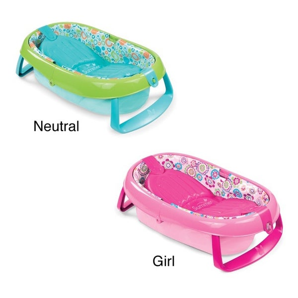 Summer Infant Fold Away Baby Bath - Free Shipping On Orders Over ...