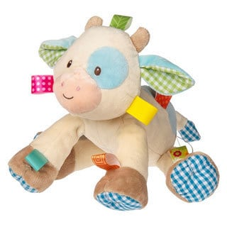 Mary Meyer Taggies 10-inch Casey Cow Soft Toy