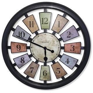 18 inch kalediscope wall clock