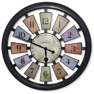 Westclox Kalediscope 18-inch Wall Clock