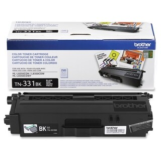 Brother Genuine TN331BK Black Toner Cartridge