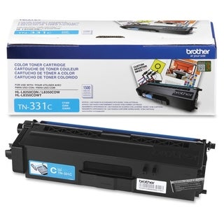 Brother Genuine TN331C Cyan Toner Cartridge