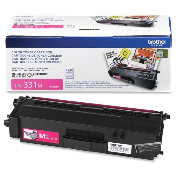 Brother Genuine TN331M Magenta Toner Cartridge