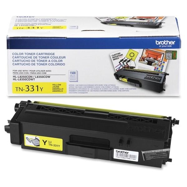 Brother Genuine TN331Y Yellow Toner Cartridge