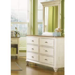 Liberty Ocean Isle Dresser and Mirror Set|https://ak1.ostkcdn.com/images/products/8876866/Liberty-Ocean-Isle-Dresser-and-Mirror-Set-P16101071.jpg?impolicy=medium