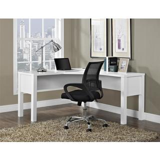 Avenue Greene Princeton White 'L' Desk