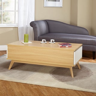 Simple Living Selena Two Drawer Coffee Table