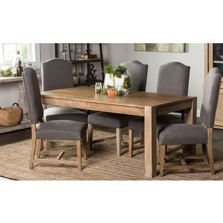Kosas Home Kira 70-inch Teak Finish Dining Table