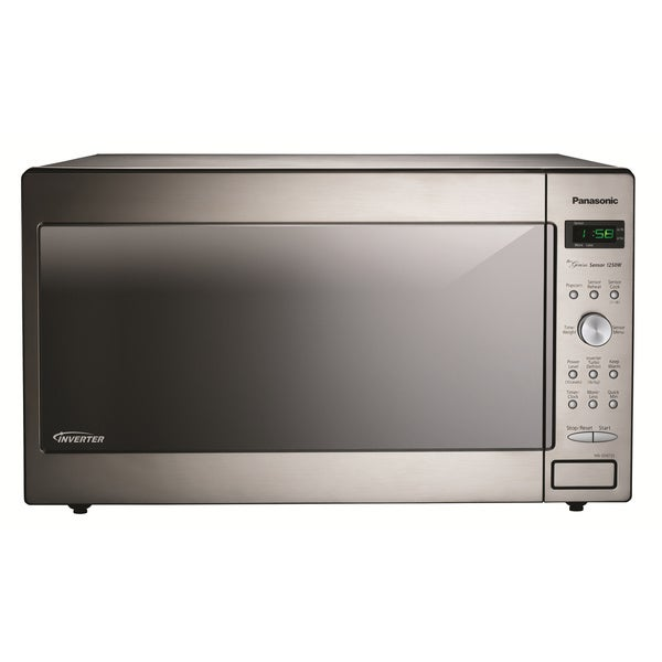 Panasonic 2 2 Cubic Foot Stainless Steel Microwave Free