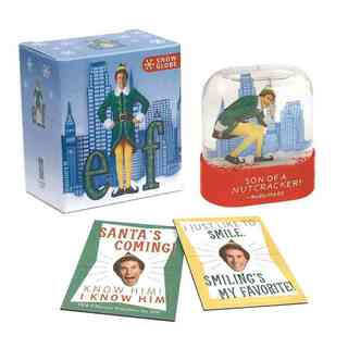 Elf Movie Holiday Box Set with Snow Globe and Magnets