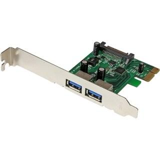StarTech.com 2 Port PCI Express (PCIe) SuperSpeed USB 3.0 Card Adapte