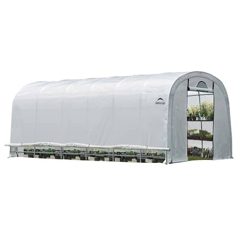 GrowIT Heavy Duty 12 x 24 ft. Round Greenhouse