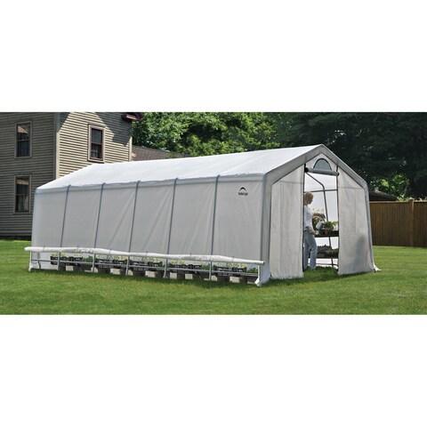 Shelter Logic Grow it Heavy Duty Walk-Thru Greenhouse (12 ft H x 24 ft L x 8 ft W)