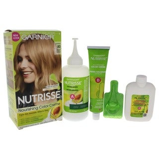 Garnier Nutrisse Nourishing Color Creme 80 Medium Natural Blonde