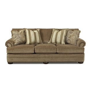Made to Order Talley Portabella Grey/ Beige Sofa