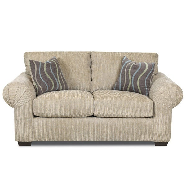 Made To Order Turner Putty Off White Beige Loveseat Free Shipping Today
