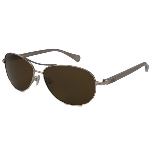 fe297fcfa4a Shop Nautica Men s  Unisex N5088S Polarized  Aviator Sunglasses ...