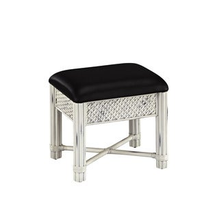 Marco Island Vanity Bench White Finish by Home Styles