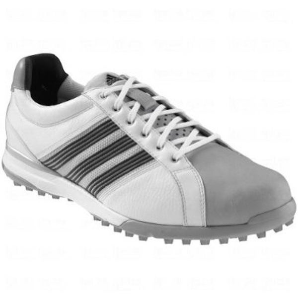Adidas Men's Adicross Tour Spikeless White/ Black Golf Shoes