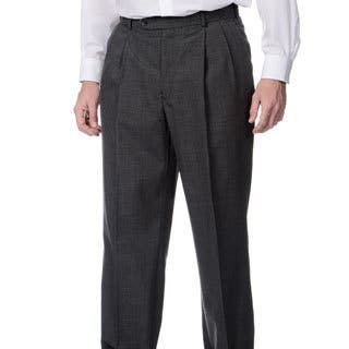 Palm Beach Men's Md. Grey Self Adjusting Expander Pleated Front Waist Pant|https://ak1.ostkcdn.com/images/products/8880374/Henry-Grethel-Mens-Md.-Grey-Self-Adjusting-Expander-Pleated-Front-Waist-Pant-P16104142.jpg?impolicy=medium