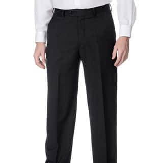 Palm Beach Men's Stretchable Waistband Flat Front Charcoal Pant https://ak1.ostkcdn.com/images/products/8880375/Henry-Grethel-Mens-Stretchable-Waistband-Flat-Front-Charcoal-Pant-P16104143.jpg?impolicy=medium