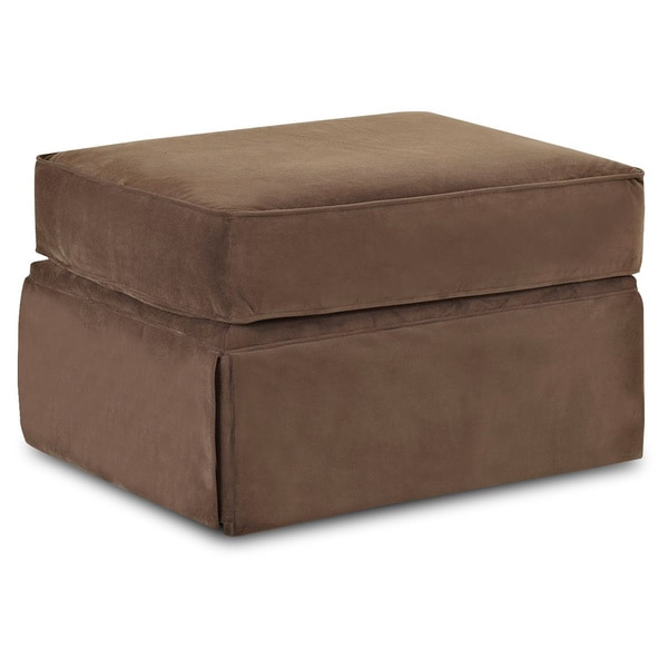 made to order wyatt chocolate brown ottoman free