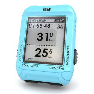 Pyle Blue Multi-function Digital LED Sports Bicycling Computer Device